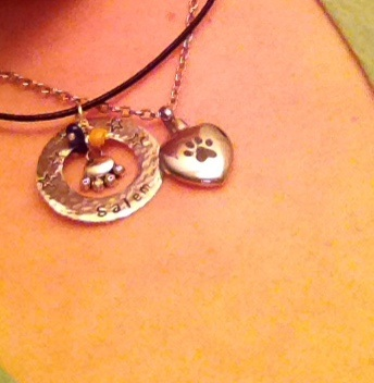 Loki's Ashes plus a necklace made by Renee
